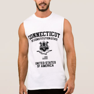 Connecticut The Constitution State Sleeveless Shirt