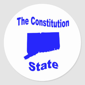 Connecticut: The Constitution State Sticker