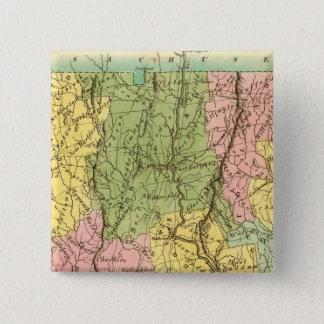 Connecticut US 15 Cm Square Badge