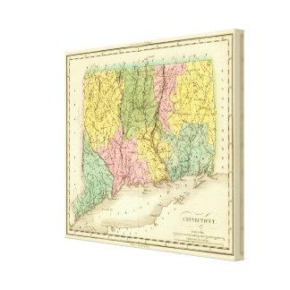 Connecticut US Canvas Print