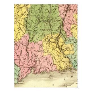 Connecticut US Postcard