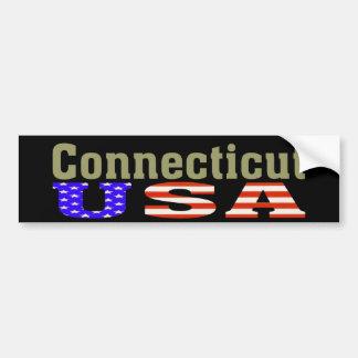 Connecticut USA! Bumper Sticker