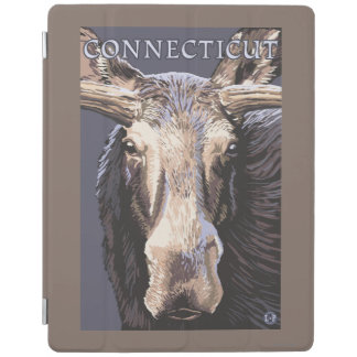 ConnecticutMoose Up Close iPad Cover