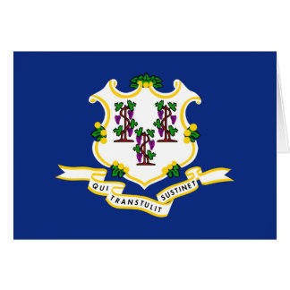 Connecticut's Flag Greeting Card