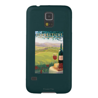 ConnecticutWine Country Scene Galaxy S5 Cases