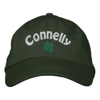 Connelly - Four Leaf Clover - Customized Embroidered Hat