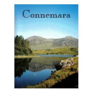 Connemara lake postcard