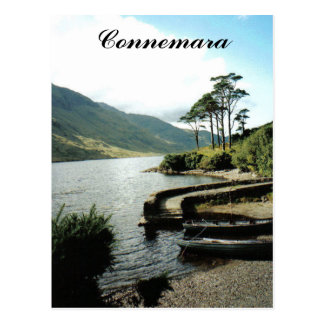 Connemara lake postcard