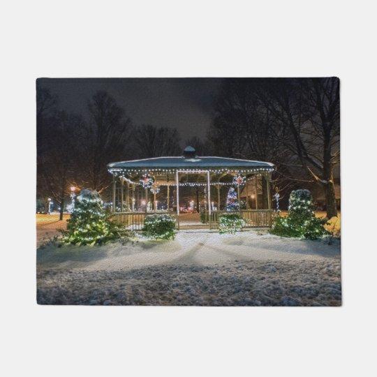 Conneticut Christmas Doormat
