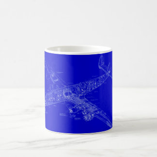 Connie Blueprint Morphing Mug