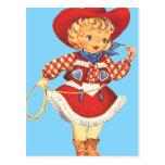 Connie Cowgirl Postcards