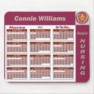 Connie Hospice Nursing Mousepads