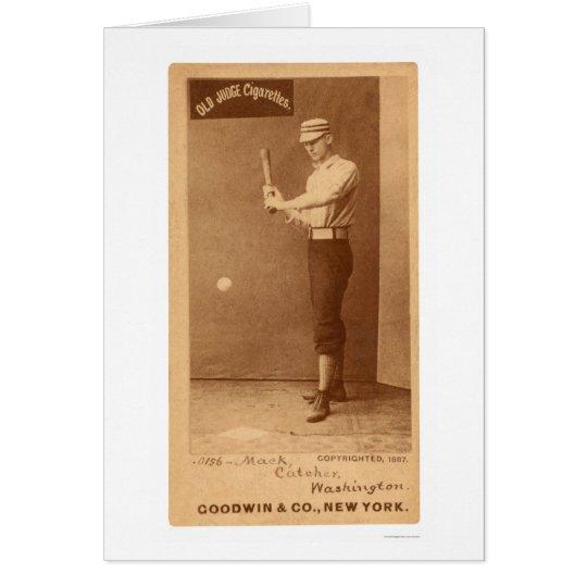 Connie Mack Baseball 1887 Card