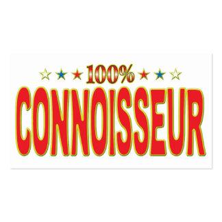 Connoisseur Star Tag Business Card