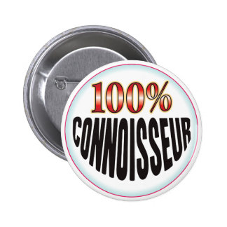 Connoisseur Tag 6 Cm Round Badge