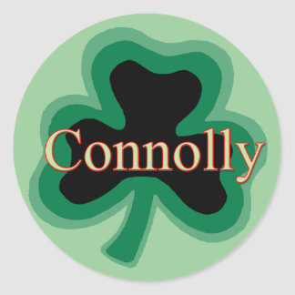 Connolly Family Round Sticker