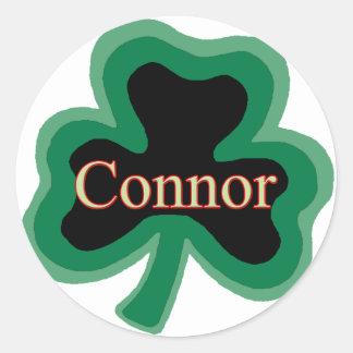 Connor Family Round Sticker