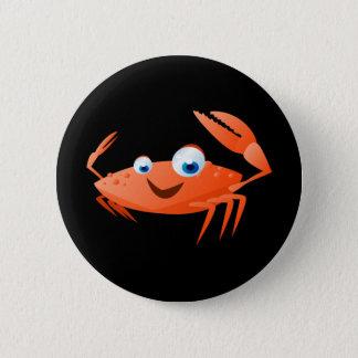 Connor The Crab 6 Cm Round Badge