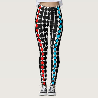 Conqueror Print Leggings
