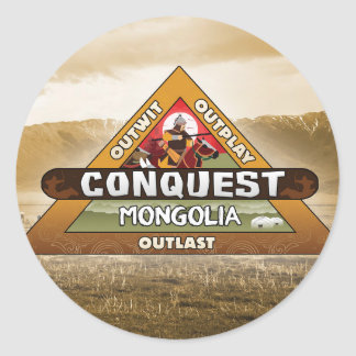Conquest: Mongolia Logo Sticker