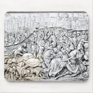 Conquest of Jerusalem by Charlemagne Mouse Mat