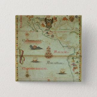 Conquest of Mexico and Peru 15 Cm Square Badge
