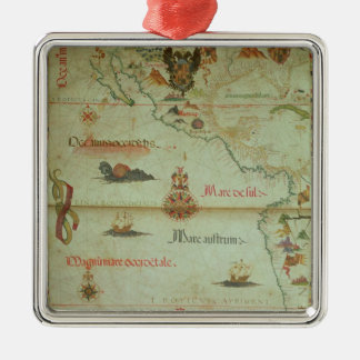 Conquest of Mexico and Peru Christmas Ornament