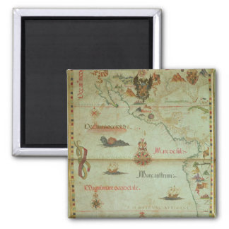 Conquest of Mexico and Peru Magnet