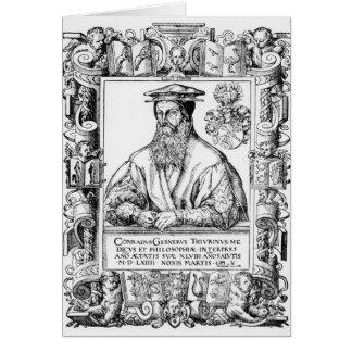 Conrad Gesner Card
