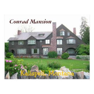 Conrad Mansion, Kalispell Montana Postcard