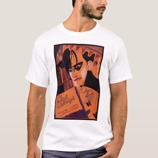 Conrad Veidt Cabinet of Dr Caligari 1921 poster T-Shirt