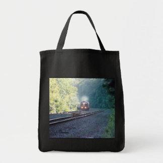 Conrail Office Car Train-OCS 8/22/97 Grocery Tote Bag