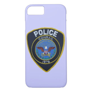 Conrail Railroad Police Patch iPhone 7 Case