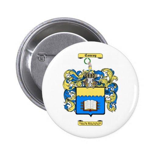 conroy 6 cm round badge