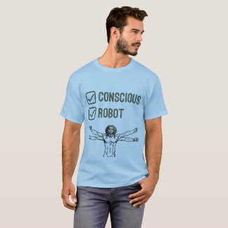 Conscious & Robot Tickbox - T-shirt