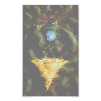 Consciousness Manifest Io Poster
