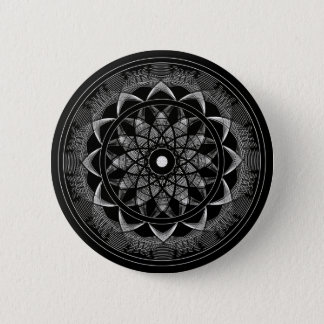 Consciousness - Sacred Geometry Mandala 6 Cm Round Badge