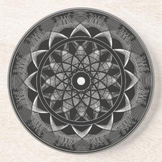 Consciousness - Sacred Geometry Mandala Coaster
