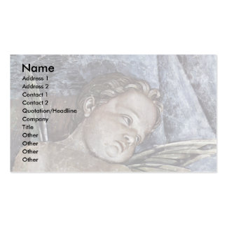 Consecration Of Putti Plate  By Mantegna Andrea Business Card Template
