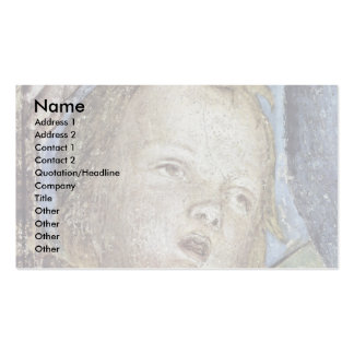 Consecration Of Putti Plate  By Mantegna Andrea Business Cards
