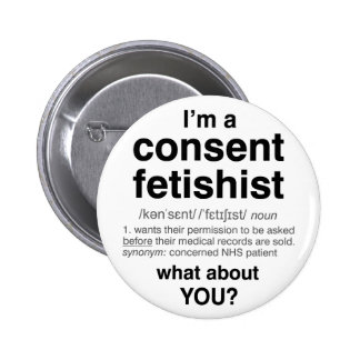 Consent Fetishist badge (standard)