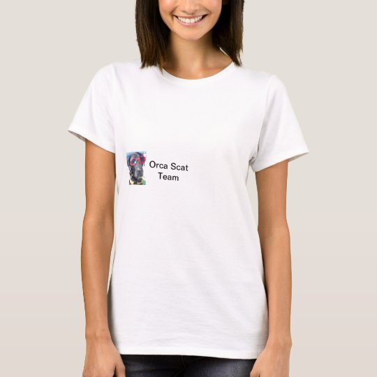Conservation Canine Killer whale t-shirt