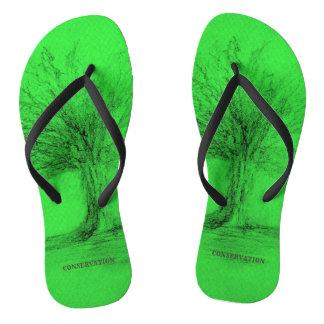 Conservation Flip Flops