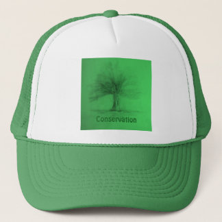Conservation Green Trucker Hat