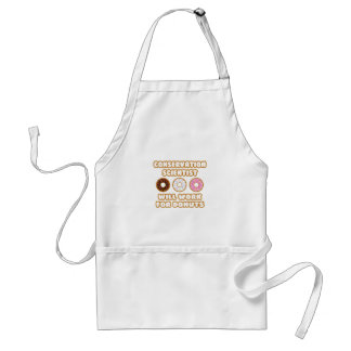 Conservation Scientist .. Will Work For Donuts Apron