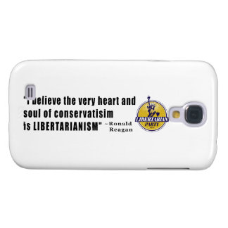 Conservatism Quote by President Ronald Reagan Galaxy S4 Cover