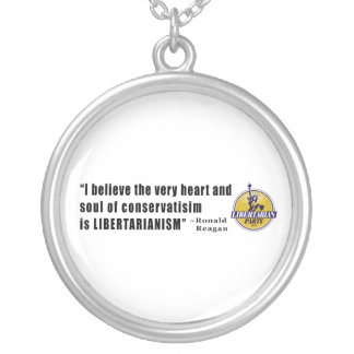Conservatism Quote by President Ronald Reagan Custom Jewelry