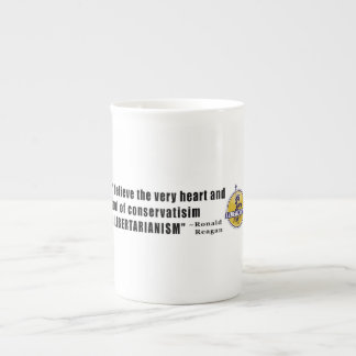 Conservatism Quote by President Ronald Reagan Porcelain Mugs