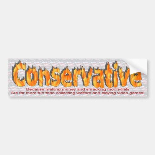 conservative 1 bumper stickers