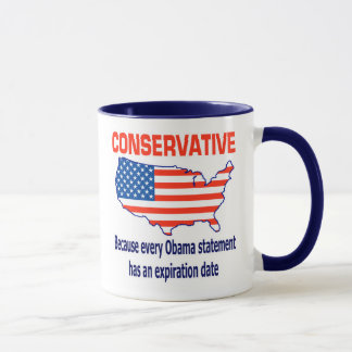 Conservative - Anti Obama Mug